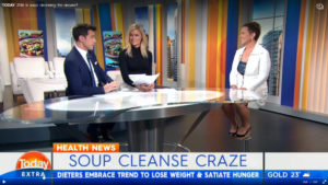 Jo Formosa on soup cleanses on Today Extra